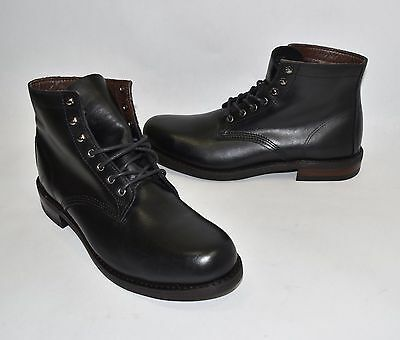wolverine black leather boots