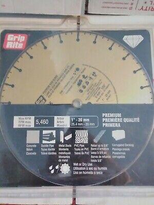 "Steel Cutting 14/"" Inch Premuim Quality Segmented Diamond Saw Blade Rebar Ductile"
