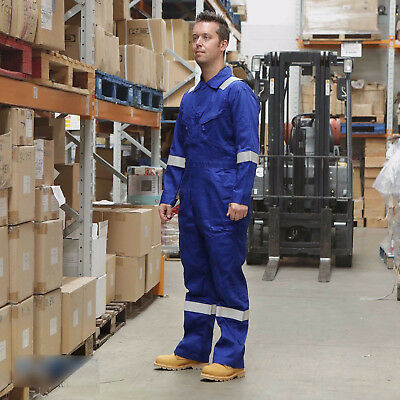 42 Chest Regular Walls 100/% Cotton Work Wear Overalls Coverall Painters Boiler Suit White RRP /£32