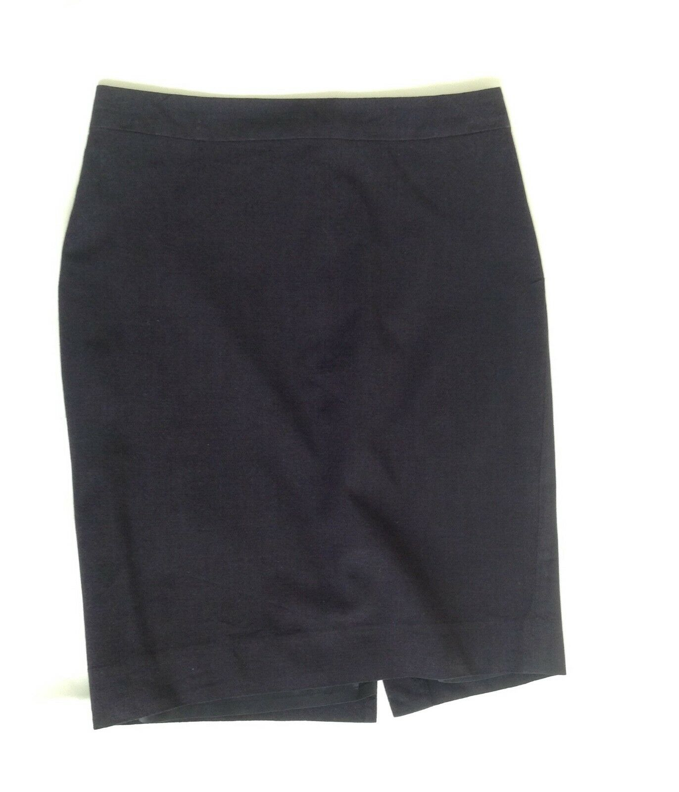 Banana Republic Navy bluee Wool Office Skirt - Size 4  29inch Waist, Above Knee