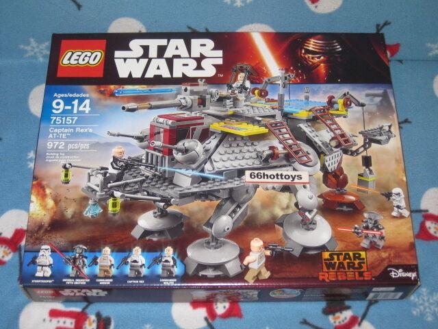 Lego Star Wars 75157 Capitán Rex's at-te 2016 Nuevo