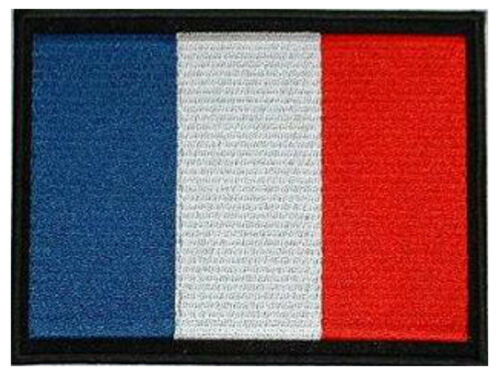 "13 x 10CM Country Flag Patch 5/""x 4/"" embroidered approx France French"