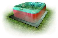 Confer Sp3248 8' X 8' Handi Spa Hot Tub Deck Foundation Plastic Resin Base Pad on sale