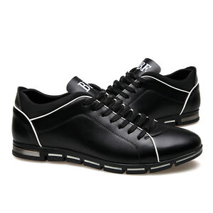 Men-Running-Sports-Shoes-Breathable-Casual-Athletic-Sneakers-PU-Leather-Lace-Up