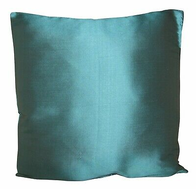 Designers Guild Pure Silk Dupion Sea Blue Plain Cushion Cover