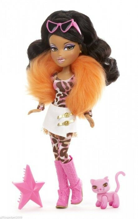 Bratz Catz Fashion Doll With Pet Cat -Yasmin