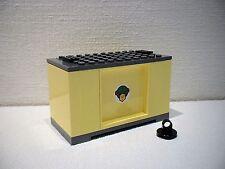 LEGO® Eisenbahn Container hellgelb für 3677, 7898, 7938, 7939 - City - NEU 1