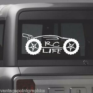 RC-LIFE-Sticker-FOR-Traxxas-Mugen-HPI-OFNA-Kyosho-and-LOSI-Truggy-amp-Buggys