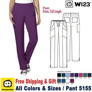 Wonderwink-Ropa-Quirurgica-W123-Mujer-Plano-Delantero-Doble-Cargo-Pantalon-5155