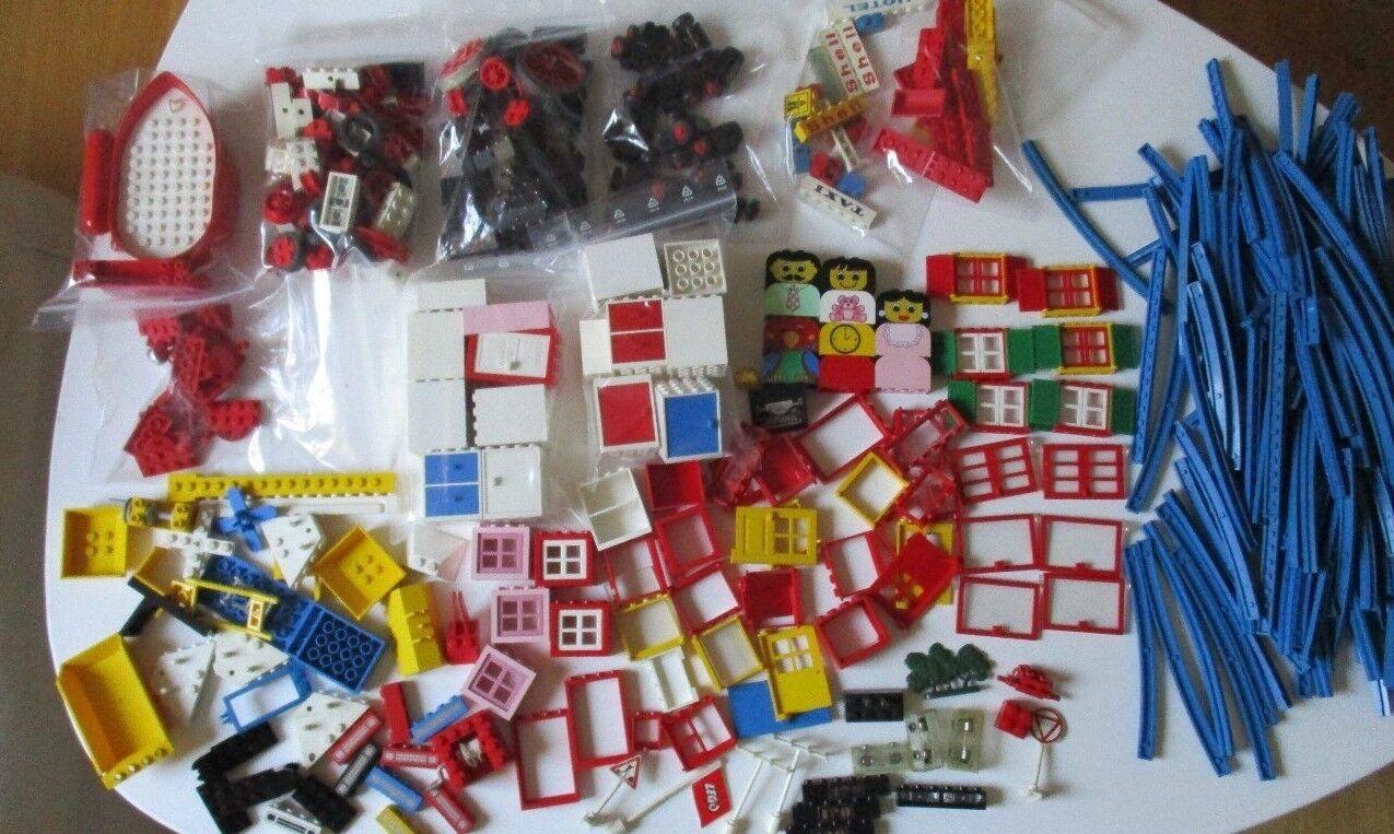 LEGO LEGOLAND BASIC CLASSIC ferrovia finestra Rotaie speciali pietre 70er 60er J.