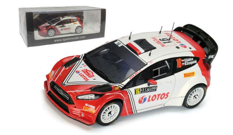 SPARK s4969 FIESTA RS WRC  LOTOS RK  Monte Carlo 2016-ROBERT KUBICA  SCALA