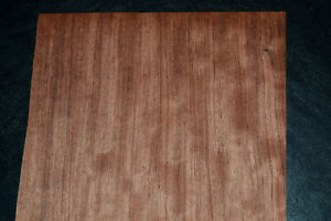 Walnut Raw Wood Veneer Sheets 8.5 x 44 inches 1//42nd Thick