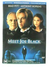 DVD-Movie-Meet-Joe-Black-Very-Good-Condtion-Brad-Pitt