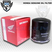 OIL FILTER HONDA GENUINE ENGINE OE REPLACEMENT WR-303 15410-MFJ-D01 ARX FSC NRX