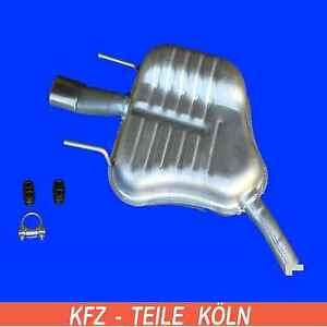 OPEL-VECTRA-C-GTS-2-2-DIRECT-3-2-V6-2-0-16V-Turbo-Silencieux-GAUCHE