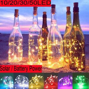 Solar-Battery-Power-Cork-Shaped-LED-Fairy-Wire-String-Light-Wine-Bottle-Lamp-US