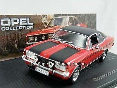 Opel Collection === coche modelo 1:43 === Commodore A coupe 1970-1971 auto//Car