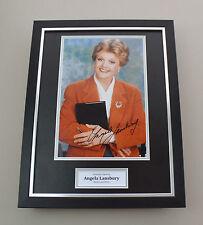 Angela Lansbury Signed Photo Framed 16x12 Murder She Wrote Autograph Display COA