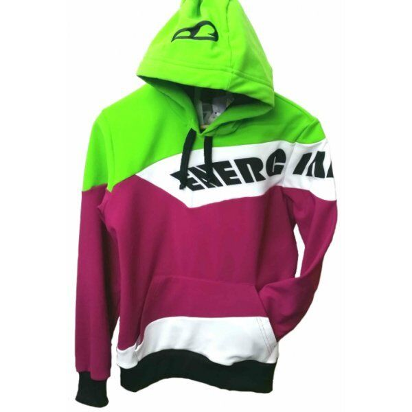 Adult New - Workout Hoody - New Plum/Lime/ Weiß b29b2a