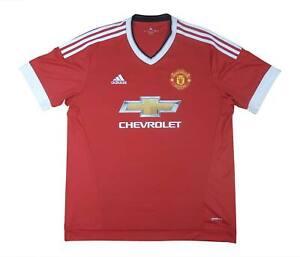 Manchester United 2015-16 ORIGINALE Maglietta (eccellente) XL soccer jersey