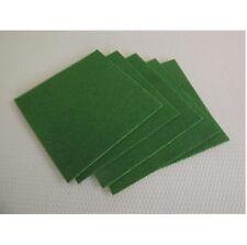 5 x Pack of POOL / SNOOKER TABLES CLOTH REPAIR, Rip, Tear PLASTERS in Green Felt