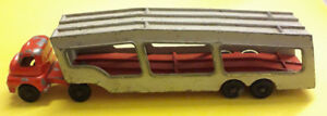 Matchbox-Bedford-Red-Grey-car-transporter-accessory-pack-No-2