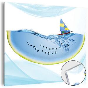 Neu acrylglasbilder bild deko glas glasbild k che wasser for Acrylglasbilder kuche