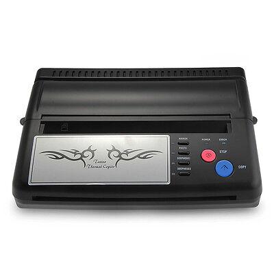 Tattoo Stencil Maker Transfer Machine Thermal Copier Printer with Paper
