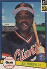 1982 Donruss Joe Morgan #312 Baseball Card