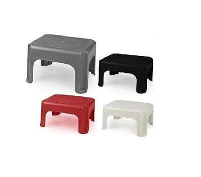 Plastic Step Foot Stool Kids Children Ladders Kitchen Bath Garage Non Slip Seat AusgewäHltes Material