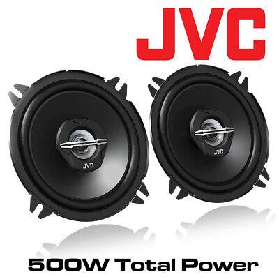 """Renault Megane 09-12 JVC 5.25/"""" 13cm 2-Way Coaxial Front//Rear Door Speakers 500W"""