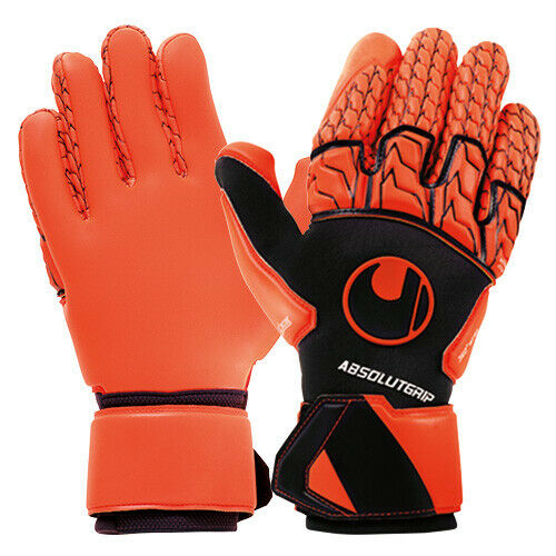 Uhlsport 101108901 Torwarthandschuhe Marine Fluo red Absolut Grip Reflex
