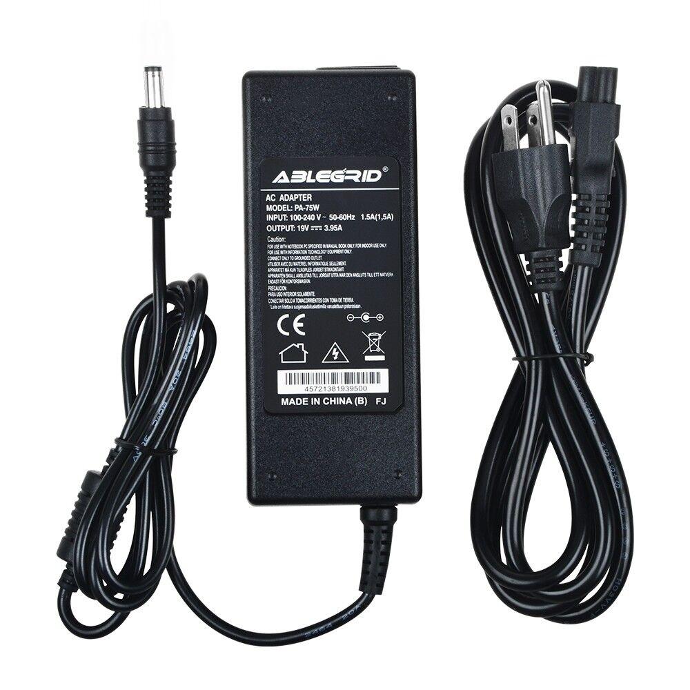AC adapter Charger for Toshiba Satellite PA3432U-1ACA PA3032U PA3097U-1ACA Power