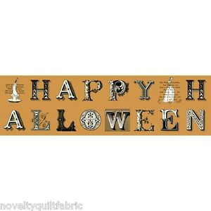 Sew-Scary-Halloween-Greetings-Lettering-1-3-yard-Cotton-Novelty-Quilt-Fabric