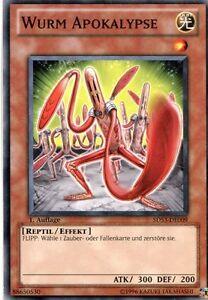Yu-Gi-Oh-Karte-Wurm-Apokalypse