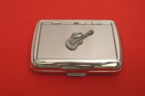 Guitar Country /& Western Motif Tobacco Box Man/'s Gift Line Dancing Gift NEW