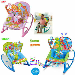 Baby Infant Rocker Bouncer Reclining Chair Music Melodies
