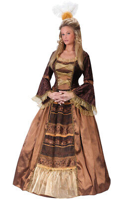 Brand New Elegant Regal Renaissance Baroness Adult Costume | eBay