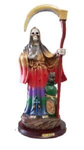 16-034-Santa-Muerte-Seven-Colors-Holy-Death-Statue-Sculpture-Grim-Reaper