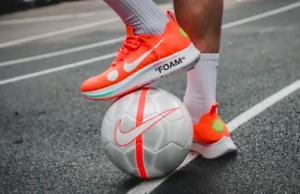 OFF White x Nike Zoom Fly Orange RARE UK9 US10 EU44 Mercurial Football Virgil
