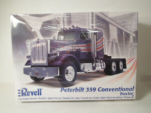 Nib revell peterbilt 359 conventional tractor 1 25th scale model image is loading nib revell peterbilt 359 conventional tractor 1 25th publicscrutiny Images