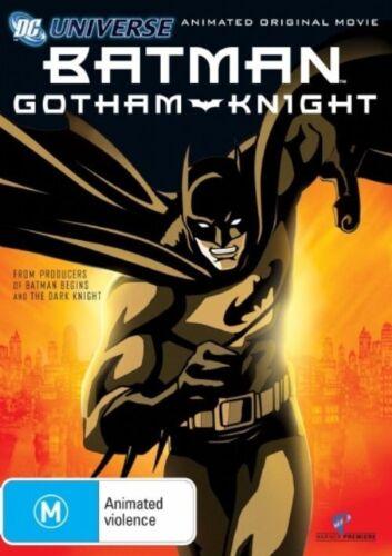 1 of 1 - Batman: Gotham Knight (DVD, 2008) Region 4 (VG Condition)