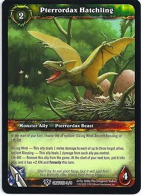 WORLD OF WARCRAFT WOW TCG REIGN OF FIRE CRAFTED THREADLINKED CHAIN X 3