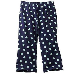 27bb07c9f20ac Jumping Beans Baby Girls Bunny & Polka-Dot Pants 6 M New $12 navy ...