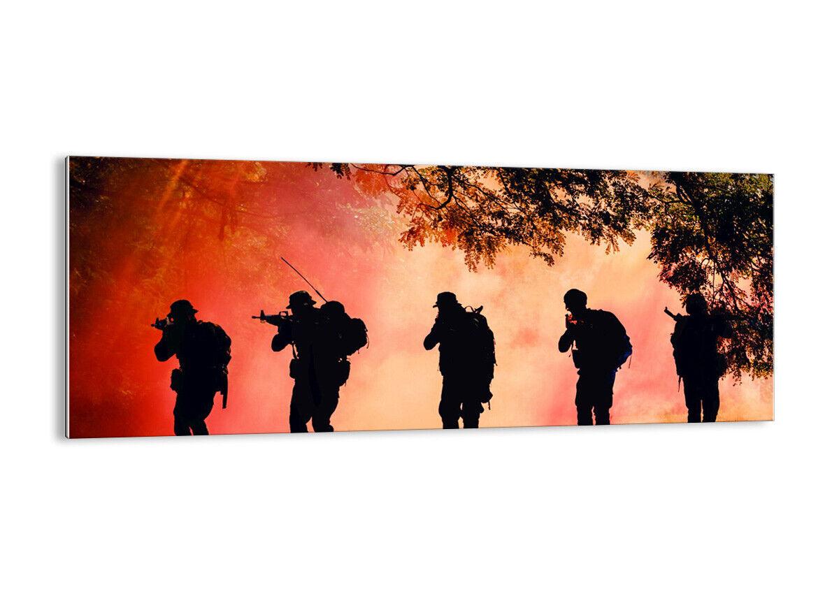 IMAGEN EN EN EN VIDRIO Cuadro soldado rifle 3977 ES 59e5f2