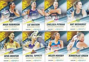TeamGirls-Medhurst-Mentor-Tippett-Green-2018-Super-Netball-8-Card-Set