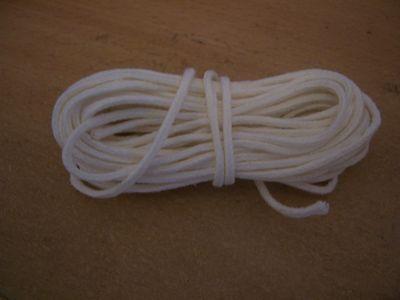 """4 /""""à 2/"""" 50 mètres de coton tressé candle wick-pour 1.3 mbc-2 43mm-50mm"""