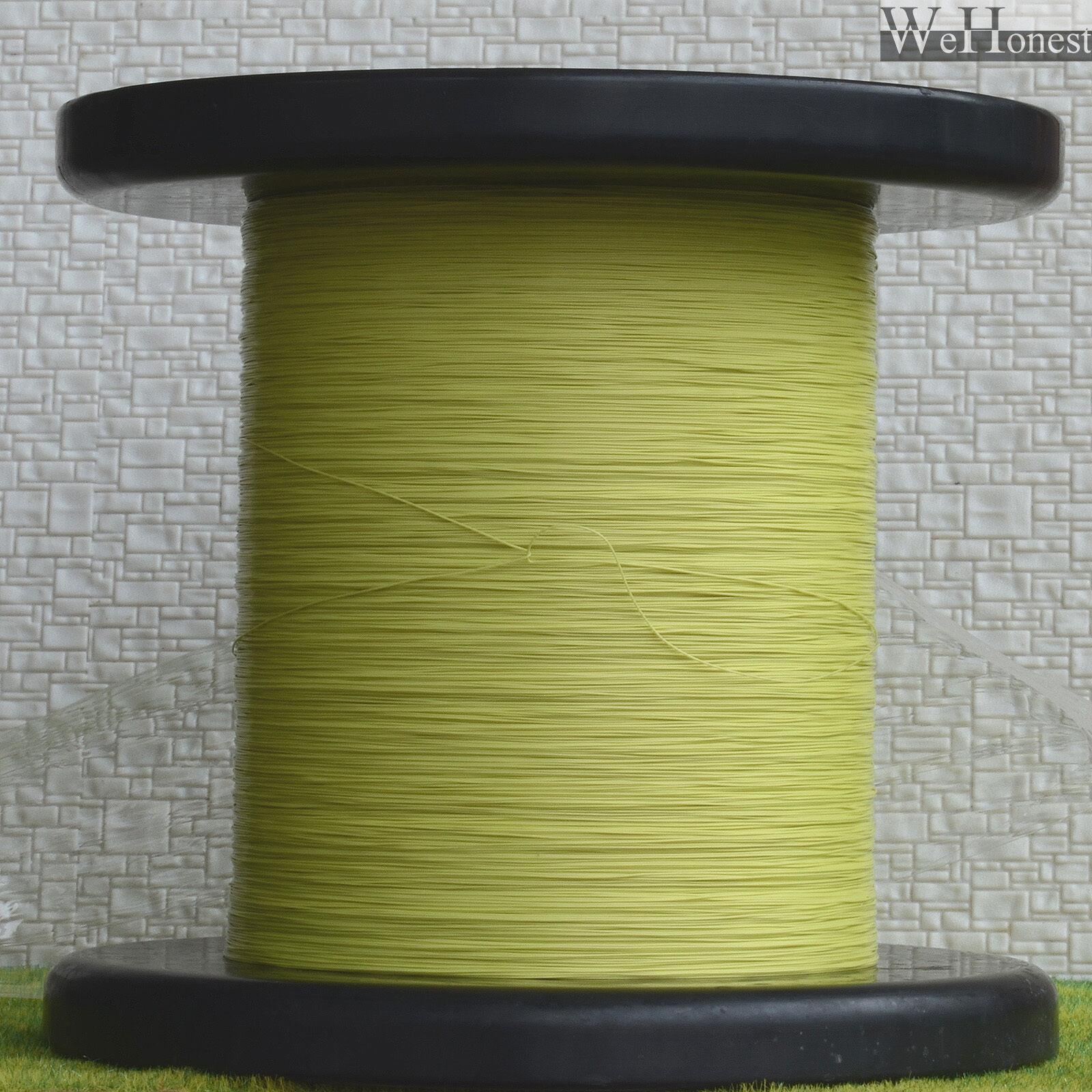 1000m Amarillo Trenzados Equipos Ultra Slim Cable Diám. 0,28 mm 0.011  Cables 7 0.05
