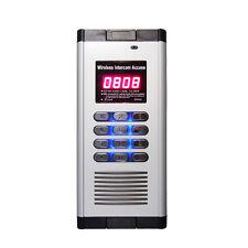 2-Relay Quad-band Intercom GSM Residential Gate Access Entry Apartment 1000 User