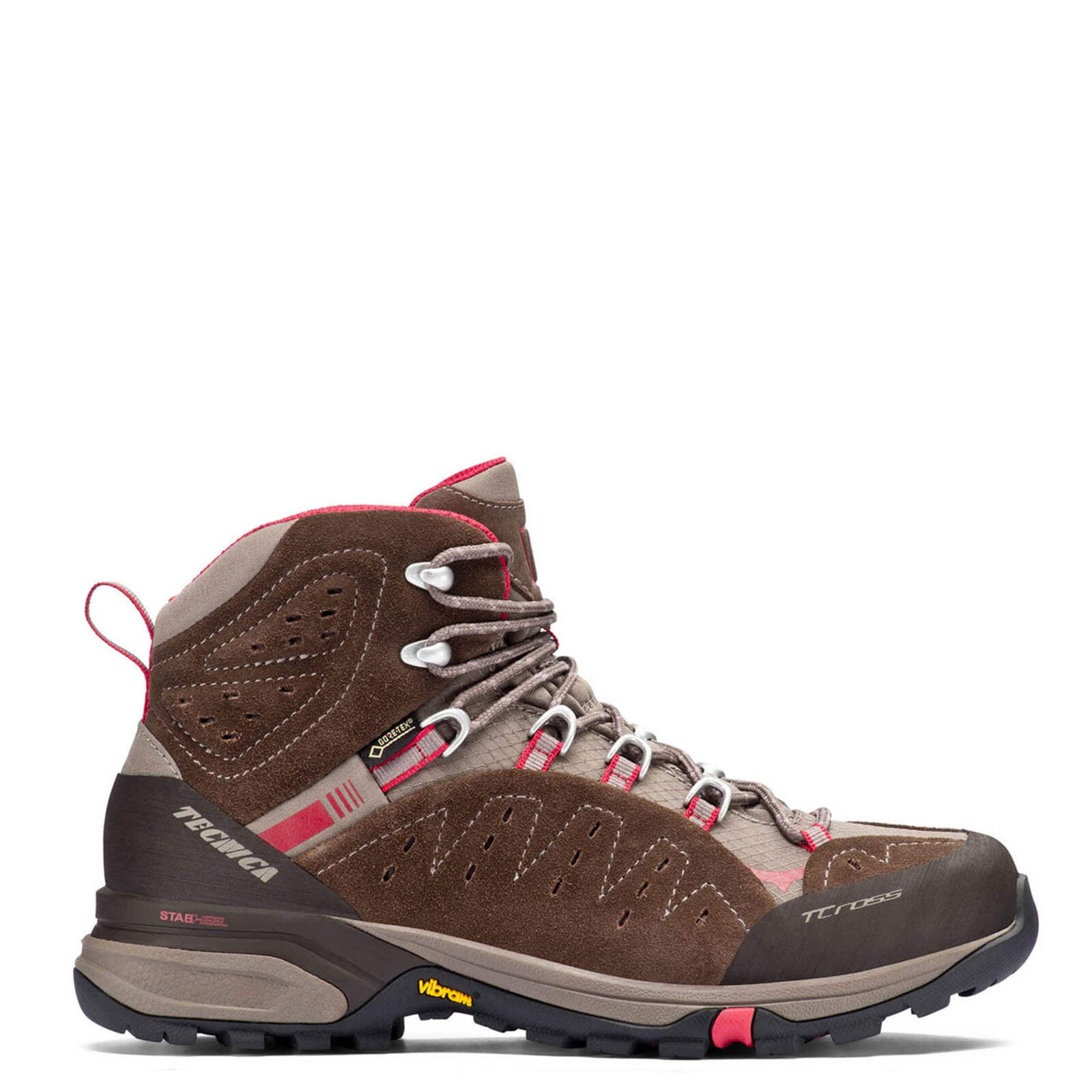 Tecnica Hiking shoes T-Cross High GTX WS Size 38  EU US 7 Ladies Brown MN j18  big discount prices